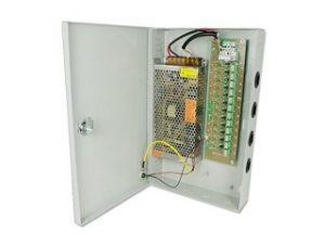 CCTV Power Supply 5 Amp 9 Way 12V